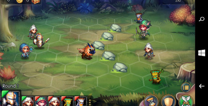 Heroes Tactics, Strategy RPG game, turn-based role-playing