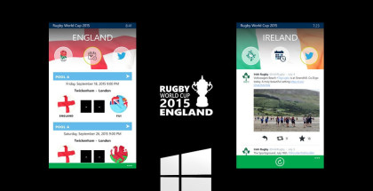 Rugby World Cup, Sports apps, Rugby world cup 2015