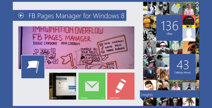 FB Pages Manager, post Facebook pages on Windows 10, Win10 management