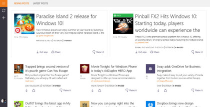 AppRaisin, find Windows 10 apps, app discovery and promotion