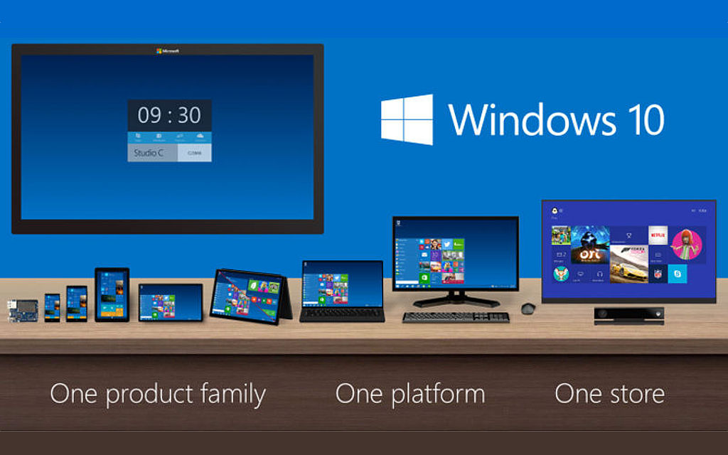 Windows 10 Continuum, Internet of Things, connected devices